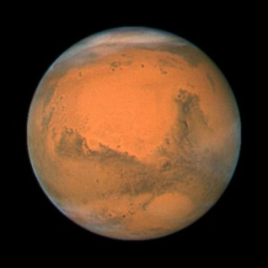 火星 mars 宇宙情報センターのサイトより (c)NASA, ESA, the Hubble Heritage Team (STScI/AURA), J. Bell (Cornell University), and M. Wolff (Space Science Institute, Boulder)