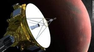 探査機「ニューホライズンズ」が冥王星に接近=NASA/JOHN HOPKINS UNIVERSTIY提供  new-horizons-spacecraft