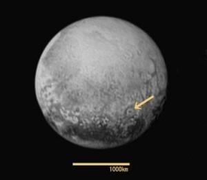 冥王星 NASA公開画像 pluto20150714